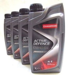 Моторно масло CHAMPION LUBRICANTS ACTIVE DEFENCE B4 ,10W-40, 1литър