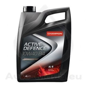 Моторно масло CHAMPION LUBRICANTS ACTIVE DEFENCE B4 ,10W-40, 4литра