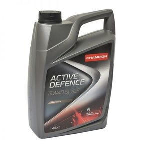 Моторно масло CHAMPION LUBRICANTS ACTIVE DEFENCE SL/CF, 15W-40, 4литра